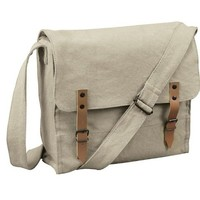 (BF181)Street Classic Canvas Men Messenger Briefcase