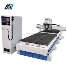 MVIP CNC OEM Best PVC ABS Board Processing ATC Wood Cutting Cnc Router Machinery