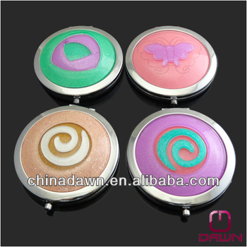 Cheap hot sale mirror compact mix color and design CD-MK