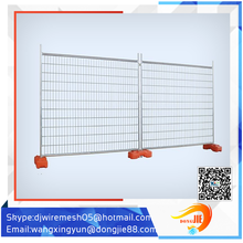 metal frame material temporary fence/power coated frame finishing temporary fence