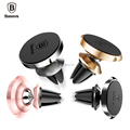 Original Baseus Small Ears Series Magnetic Suction Bracket 360 Degree Rotation Magnet Attraction Car Air Vent Mount Holder