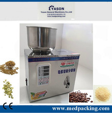 Semi automatic small dose chilli powder and packing machine,powder vibrating filling machine