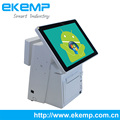 Windows All In One Touch Screen Retail POS System with Printer, RFID Card Reader