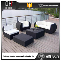 newcastle outdoor home furniture uv resistant wicker rattan cane garden dining furniture