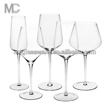 Elegant Wholesale Crystal Wine Glasses with steam