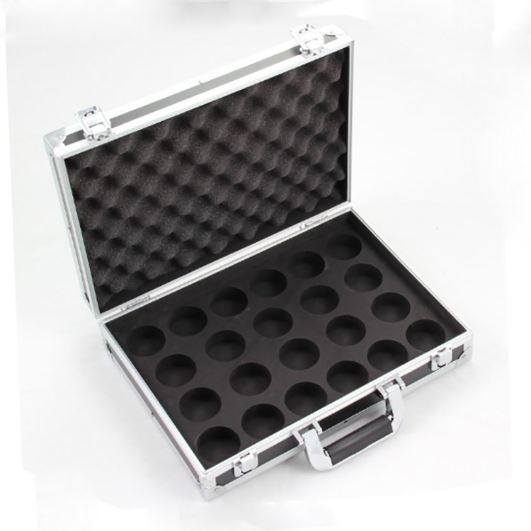 Sturdy Aluminum Frame And ABS Panel Snooker Ball Carry Case With Padded Foam