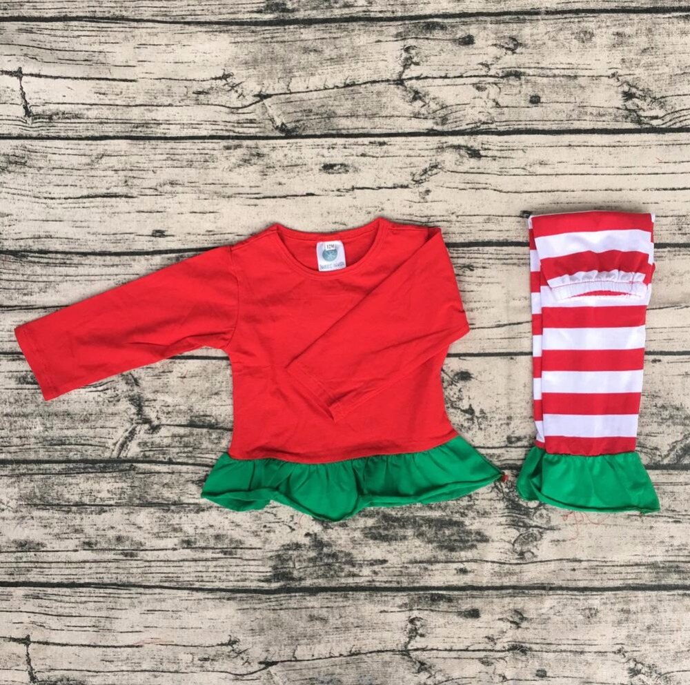 2017 kids clothing sets green striped girl kids family children casual wear womens silk pajamas