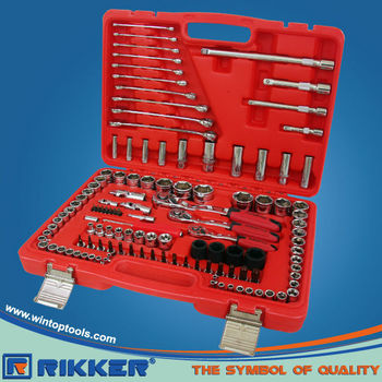 120PCS 1/4''&3/8''&1/2''DR.SOCKET WRENCH SET