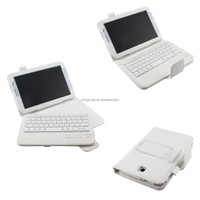 PU leather case with GFSK Modulation bluetooth keyboard for Samsung Galaxy Note 8.0 N5100 N5110
