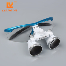 3.5 & 2.5 dental loupes with led magnification loupes dental supply