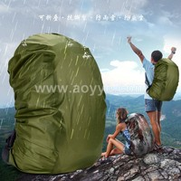 Newest outdoor hiking camping cheap nylon camouflage rucksack army green waterproof military backpack rain cover bag