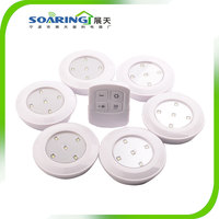 6pcs Wireless Battery Operated LED Cabinet