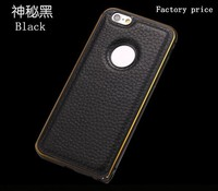 high quality genuine leather material fashion Mobile Phone Case for iphone 6
