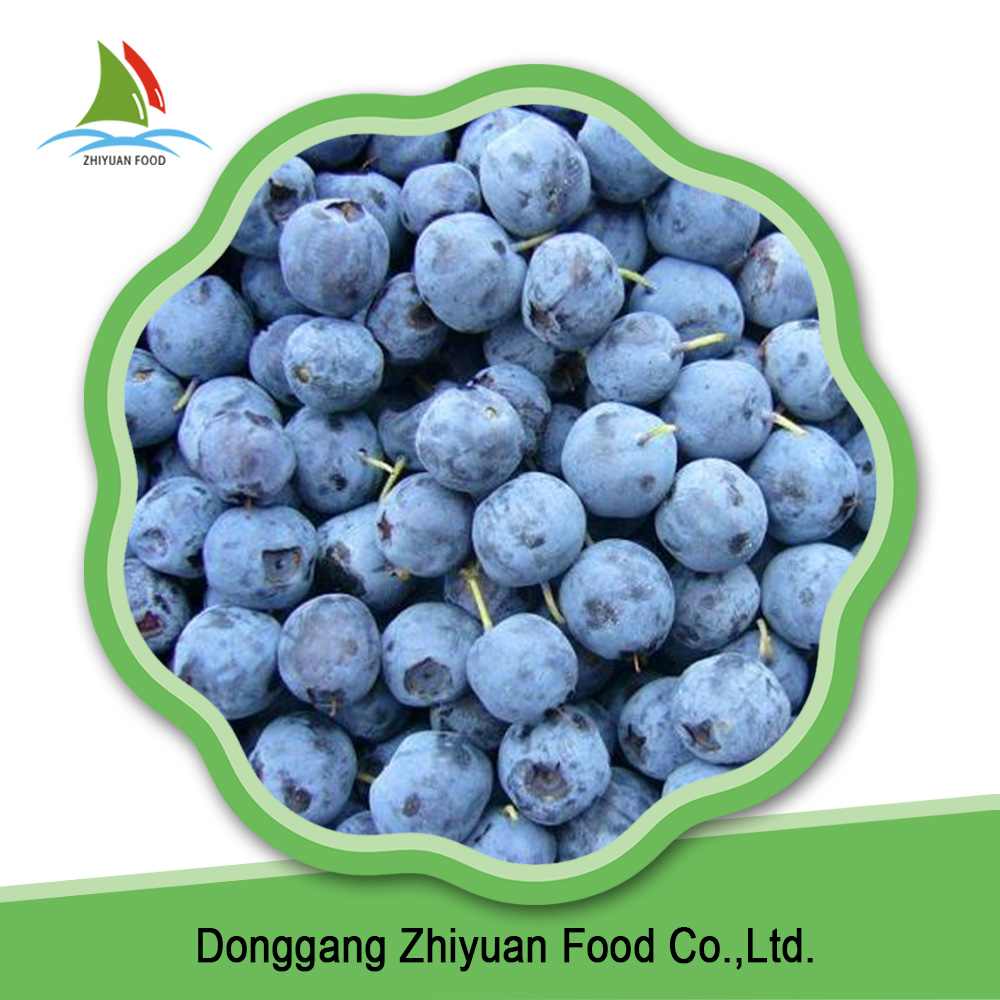 Common Cultivation Blue Whole Frozen blueberry