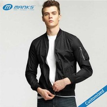 Customized 2017 Latest Design Hot Selling Winter Heated Bomber Jacket For Men