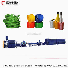 Raffia Rope Extrusion PP Flat Yarn Extruder with PLC