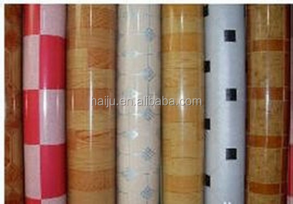 factory supply cheap price indoor usage 0.35mm to3 mm thickness pvc flooring
