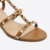 2017 new thick heel girls sandals