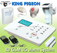 Wireless Alarm System 99zones with IP Camera DIN input
