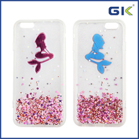 [GGIT] Epoxy Mermaid Design TPU+PC Phone Case For IPhone 6 Cover