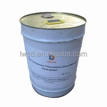 LW groting resin two component flexible polyurethane foam