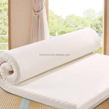 2017 hot sale true waterproof sleeper memory foam mattress topper