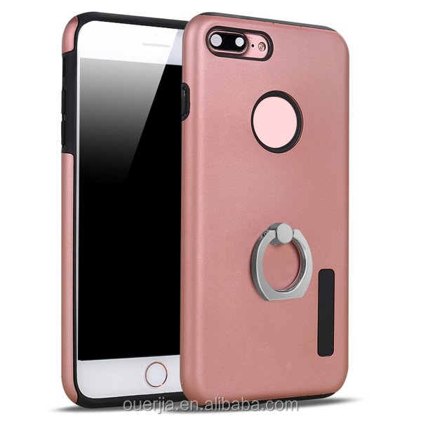 Free sample for iphone 7 case back cover with ring