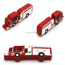 Free sample truck design usb flash memory drive for promotional
