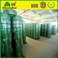 China Manufacturer supply green PET plastic strapping roll