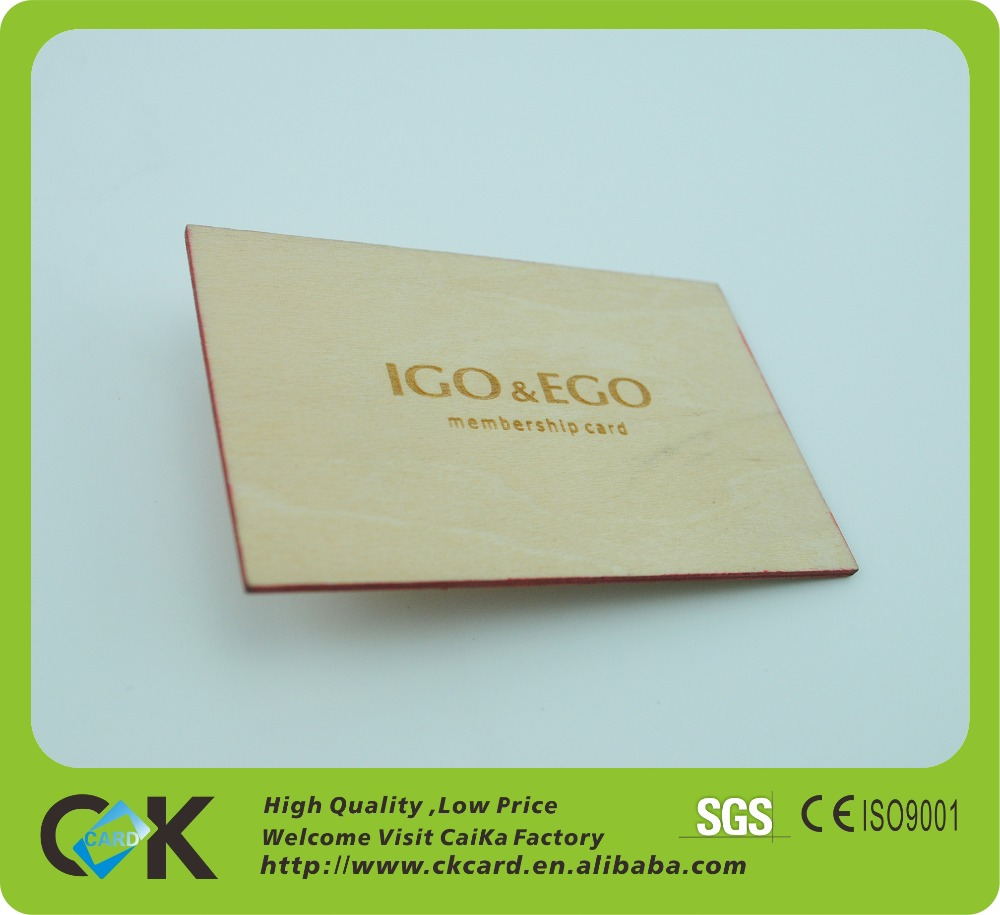 High quality wooden greeting card/wooden business card making in China