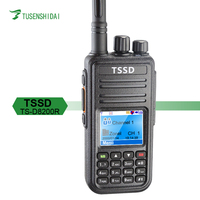 Single Band Vhf&Uhf Digital Mobile Radio Two way Radio for TSSD TS-D8200R DMR Radio