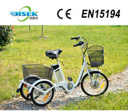 3 wheel electric cargo tricycle used