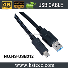 USB3.1 type c to type a cable usb data cable for samsung mobile phone