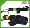 Tactical Subzero wide beam zoomable green laser flashlght for riflescopes hunting
