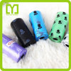 2016 dog poop bags in roll China biodegradable dog garbage bags