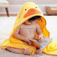 100% cotton kids bath towel with hooded
