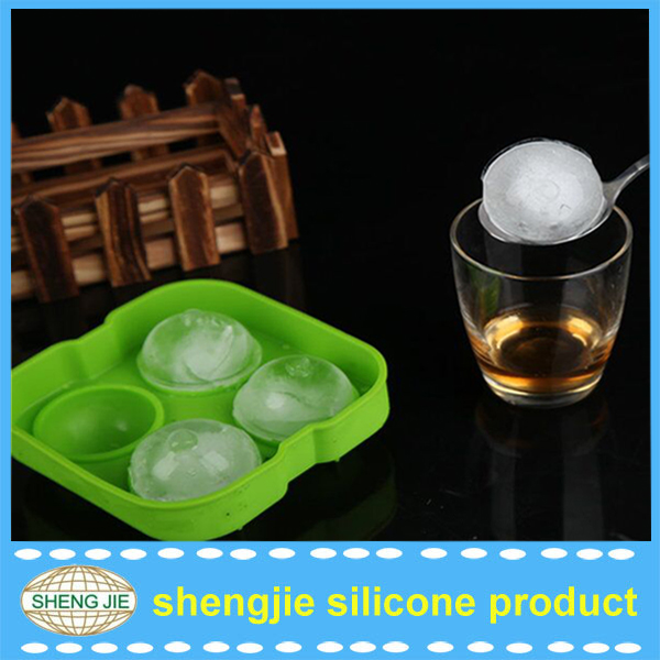 upgraded Version Ice Ball Maker - Ice Ball Maker Mold - 4 Whiskey Ice Balls