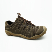 <strong>air</strong>-mesh and leather upper unique design most fashionable cool man leather casual shoes