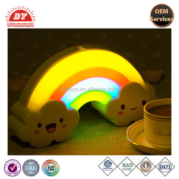 custom vinyl rainbow night light