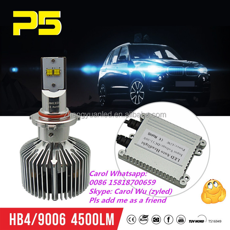HB4 H8 H11 H9 9000LM Headlamp Low Beam 6500K Detachable 90W Projector HID LED