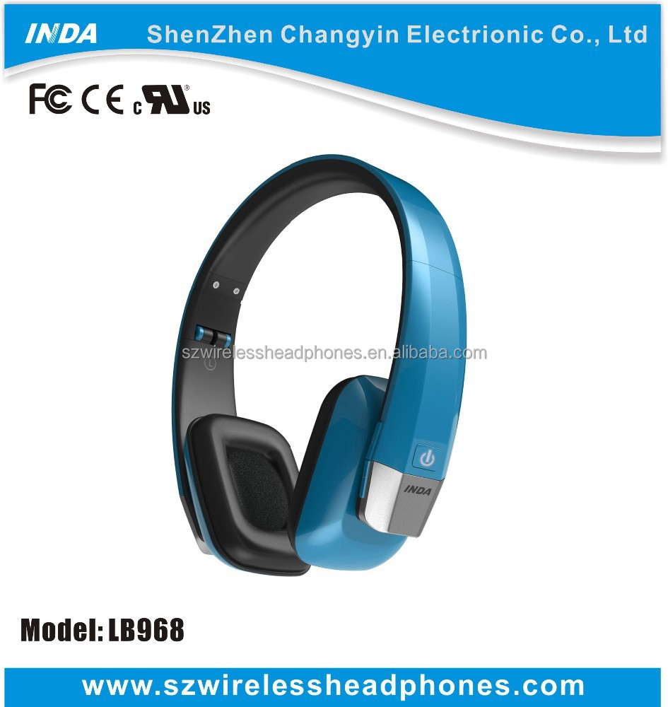 The Newest & Cheap Elegant Foldable Stereo Bluetooth Wireless Headphone