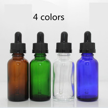 Wholesale Empty 30ml custom printed amber pharmaceutical oil glass dropper bottle with tamper proof lid