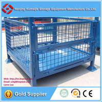 Promotion Steel Industrial Collapsible Wire Mesh Pallet Cage