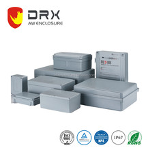 ip67 187x120x78mm outdoor WALL MOUNT Electronic Aluminium Waterproof enclosure junction box