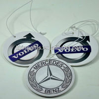 2015 Promotional custom hanging eco refresh air freshener