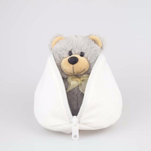 Gift customized bear toy stuffed animal plush teddy bear in the Egg