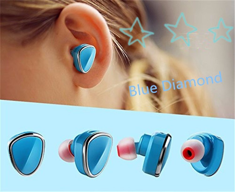 Phone accessories mobile mini sport hands free bluetooth 4.1 earphones