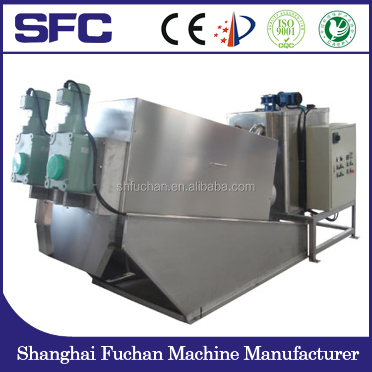 Sewage treatment plant for oil sludge