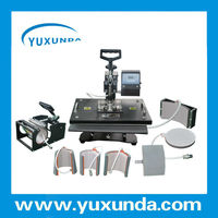 high quality lowest price multipurpose heat press machine 8 in 1