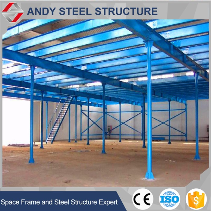 High quality light fabric large span steel building factory steel frame price